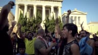 Greek and refugee protesters in Athens condemn Police raid and eviction of refugee squats in Thessaloniki At the same time a protest broke out in a...