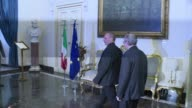 Greek Finance minister Yanis Varoufakis meets his Italian counterpart Pier Carlo Padoan in Rome on Tuesday