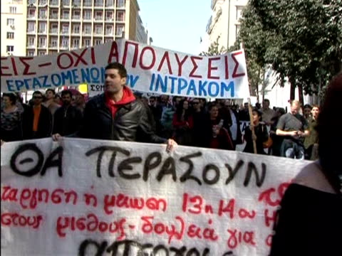 Greek police clashed with hooded youths on Thursday as thousands demonstrated against austerity measures aiming to end a crippling debt crisis and...