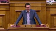 Greek Prime Minister Alexis Tsipras asked parliament early Saturday to approve his reform proposals to creditors as a national duty that would keep...