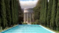 Greek Temple Reflecting Pool