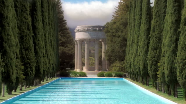 Greek Temple Reflecting Pool