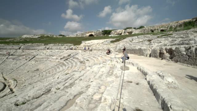 greek theater of Syracuse, Sicily