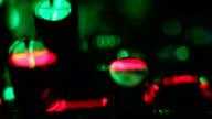 Green Circuit roten Laser-Saum