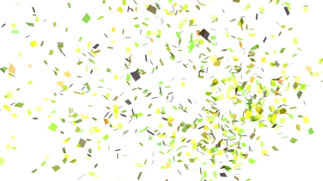 Green Confetti Explosion Stock Footage Video Getty Images