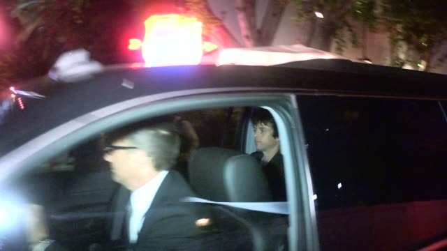 Green Day's Billie Joe Armstrong departing the U2 After Party at the Chateau Marmont in West Hollywood Celebrity Sightings in Los Angeles on June 3...