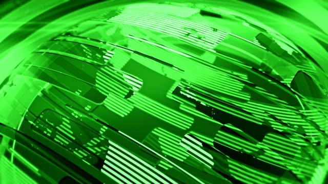 Green Glossy Globe