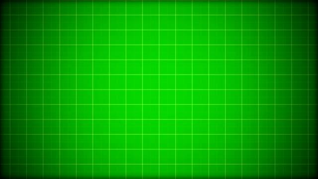 Green Grid Background w/Light Streaks