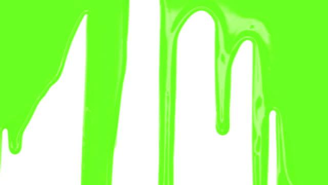 Grüne Farbe Übergang