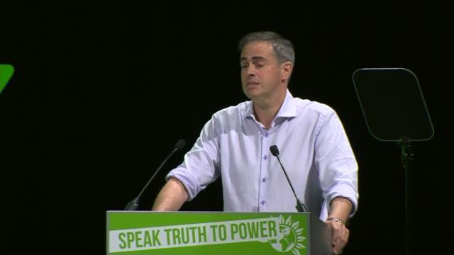 Jonathan Bartley speech Jonathan Bartley speech SOT