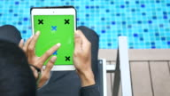 Grünen Bildschirm Digitaltablett