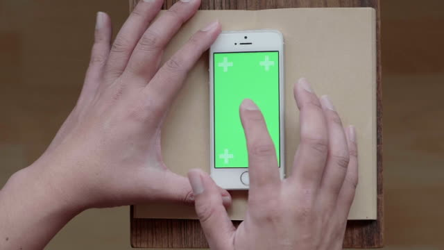 Green Screen Smartphone At My Condo