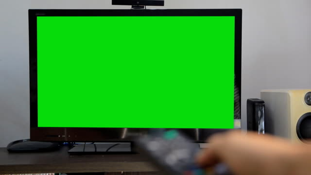 Green screen tv