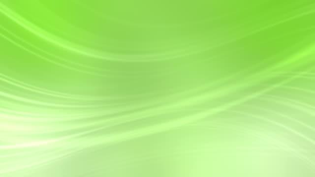 Sfondo di onde di verde (loop)
