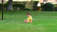Greenery - Children playing in the garden