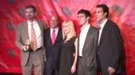 Greg Daniels Jeff Zucker Angela Kinsey BJ Novak and Ben Silverman at the 66th Annual Peabody Awards press room at Waldorf Astoria in New York New...
