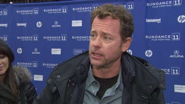 Greg Kinnear on the most fun part of playing a con man how being an actor you are always trying to convince people to give you work the best part of...