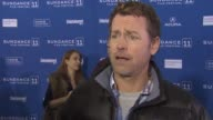 Greg Kinnear on why he wanted to be part of this film and being at the festival at the 'Salvation Boulevard' Premiere 2011 Sundance Film Festival at...