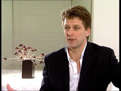 Greg Rusedski drugs hearing in Montreal ENGLAND London Andrew Castle interviewed SOT