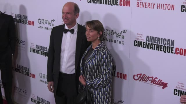Gregory Annenberg Weingarten and Regina Annenberg Weingarten at The 31st Annual American Cinematheque Awards Honoring Amy Adams at The Beverly Hilton...