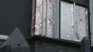 82 buildings fail new fire safety tests ENGLAND Greater Manchester Salford EXT Various of tower blocks of flats on the Pendleton Estate which are...