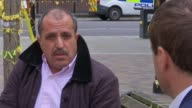 100 days after fire only five families have been rehomed Ahmed Chellat interview SOT