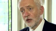 12 deaths confirmed Jeremy Corbyn interview ENGLAND London INT Jeremy Corbyn MP interview re his reaction to the Grenfell Tower fire SOT