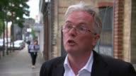 140 residents still homeless ENGLAND London EXT Robert Atkinson interview SOT