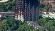 Death toll may be lowered as police investigate cases of fraud DATE Charred remains of Grenfell Tower