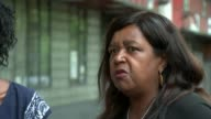 Grenfell Inquiry to examine authorities' response and 'adequacy' of fire regulations Clarrie Mendy interview SOT Grenfell inquest mural Various of...