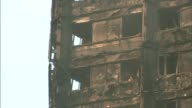 Inquiry to begin amid controversy 3 months after fire T29061727 / TX North Kensington PAN Grenfell Tower Grenfell Tower