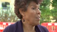 Inquiry to begin amid controversy 3 months after fire London Moira Samuels interview SOT