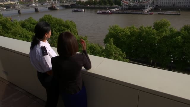 Interview with police officer who is working to recover remains of victims London New Scotland Yard EXT Constable Loraine Verghese chatting to...