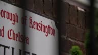 Kensington and Chelsea Council and TMO may have committed corporate manslaughter T25071702 Blurred shot of sign for 'Borough of Kensington and...