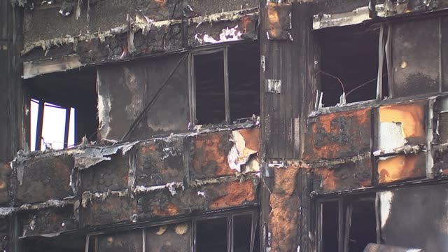 Kensington Council leader Nicholas PagetBrown resigns EXT Councillor Robert Atkinson interview SOT Worker in flat inside fire damnaged Grenfell Tower...