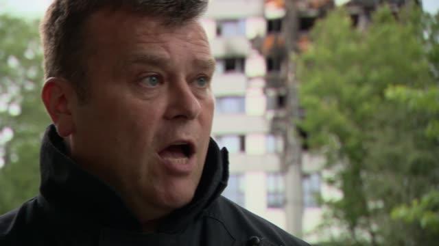 Police Disaster Victim Identification Interview Metropolitan Police Sergeant Alistair Hutchins ENGLAND London EXT Sergeant Alistair Hutchins...