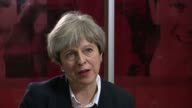 Protests on streets as death toll rises / Queen and Prime Minister visit London Chelsea and Westminster Hospital Theresa May MP along and greeted as...