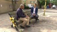 Questions over lack of diversity in Public Inquiry panel Karim Mussilhy interview SOT He was a father figure to me Reporter and Karim Mussilhy on...