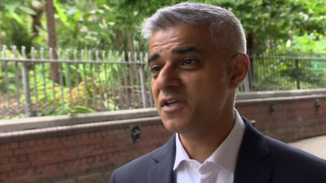 Sadiq Khan interview re lack of confidence in council ENGLAND London EXT Sadiq Khan interview re lack of confidence in council SOT