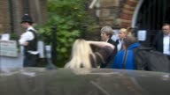 Theresa May says management organisation may lose responsibility for running the estate LIB / ENGLAND London North Kensington St Clement's Church EXT...