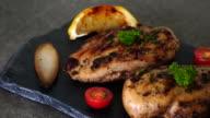 grilled chicken fillet steak