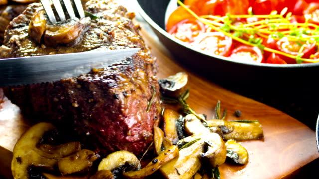 Gegrilde sappige Steak