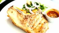 Gegrilde varkenskarbonade vlees biefstuk