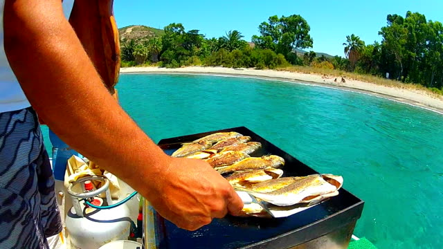 grilled sea fish