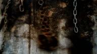 grillets oxidados de esclavo