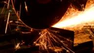 Grinder Cutting steel