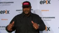 Grizz Chapman at EPIX Premiere Of Amare Stoudemire IN THE MOMENT at Marquee on April 18 2013 in New York New York