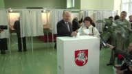 Ground down by austerity voters in Lithuania's general election looked set Sunday to hand power to the left and eject the Baltic state's fouryearold...