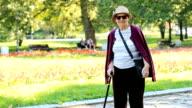 Groundmother walking
