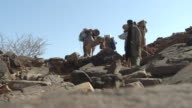 MS Group and nomad coming toward / Atar, ADRAR, Mauritania